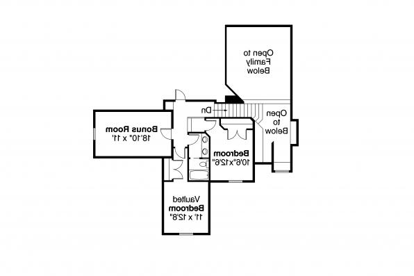 Country House Plan - Heartwood 10-300 - Second Floor Plan