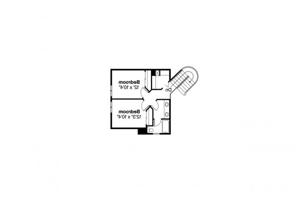 Country House Plan - Jasmine 10-001 - 2nd Floor Plan