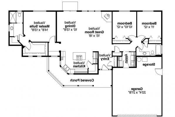 Country House Plan - Kennison 30-377 - Floor Plan