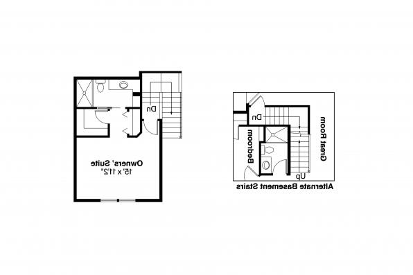 Country House Plan - Lockhart 30-104 - 2nd Floor Plan