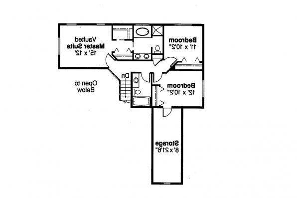 Country House Plan - Malta 30-168 - 2nd Floor Plan
