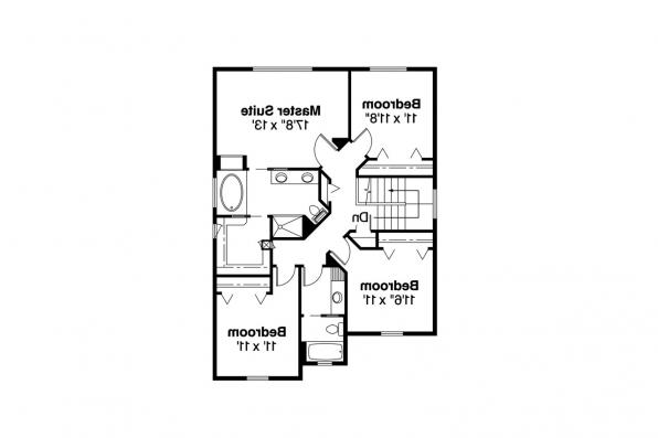 Country House Plan - McKinnon 30-420 - 2nd Floor Plan