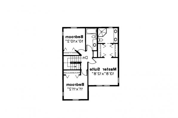 Country House Plan - Newberg 10-138 - 2nd Floor Plan