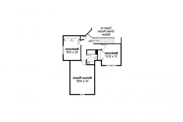 Country House Plan - Radbourne 30-562 - 2nd Floor Plan