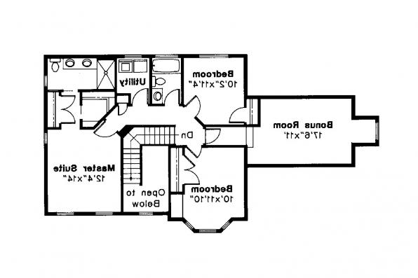 Country House Plan - Sedgewicke 30-094 - 2nd Floor Plan