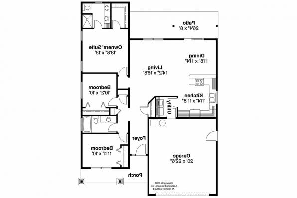 Country House Plan - Sedgewood 30-631 - Floor Plan