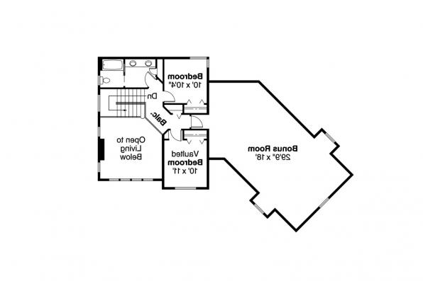 Country House Plan - Shaffer 30-453 - 2nd Floor Plan