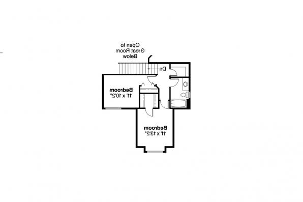 Country House Plan - Susanville 30-114 - 2nd Floor Plan