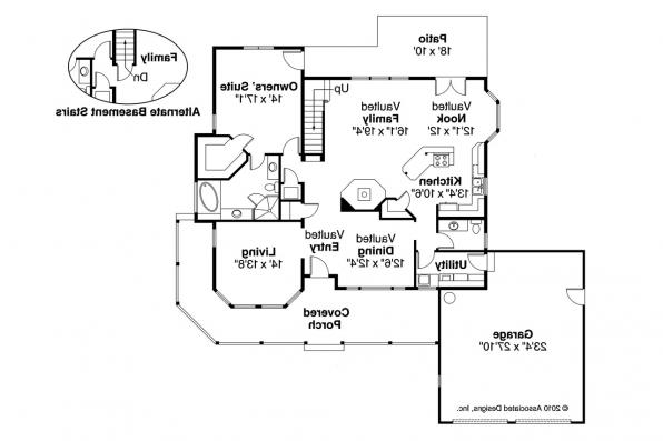 Country House Plan - Trinity 10-211 - 1st Floor Plan