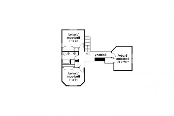 Country House Plan - Trinity 10-211 - 2nd Floor Plan