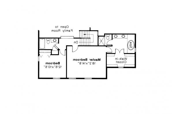 Country House Plan - Trowbridge 42-005 - 2nd Floor Plan