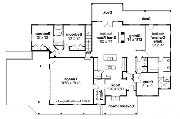 Ranch Home Plans With Double Sided Fireplace Get House