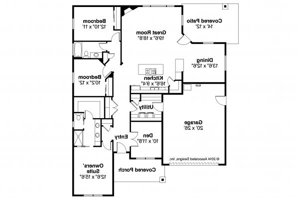Country House Plan - Westfall 30-944 - Floor Plan