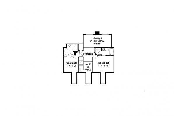 Country House Plan - Wyndmere 30-038 - 2nd Floor Plan