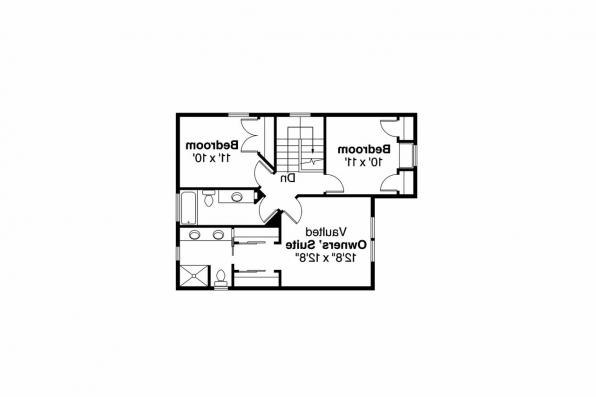 Country House Plan - Ellisville 30-588 - 2nd Floor Plan