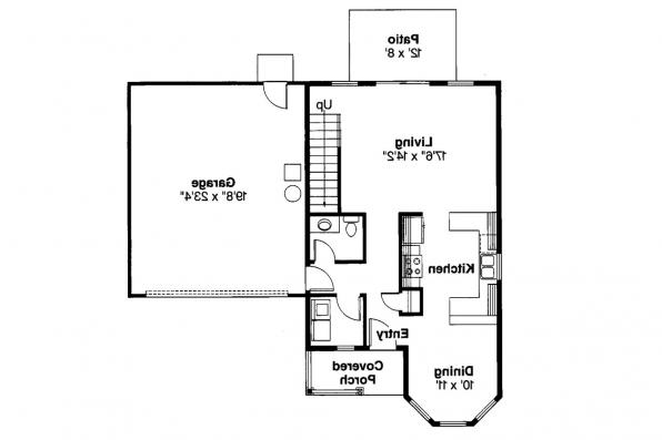 Craftsman House Plan - Baywood 30-118 - 1st Floor Plan