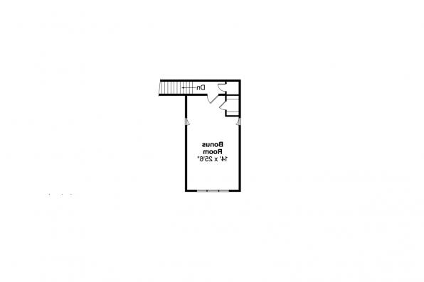 Craftsman House Plan - Cauldwell 30-509 - 2nd Floor Plan