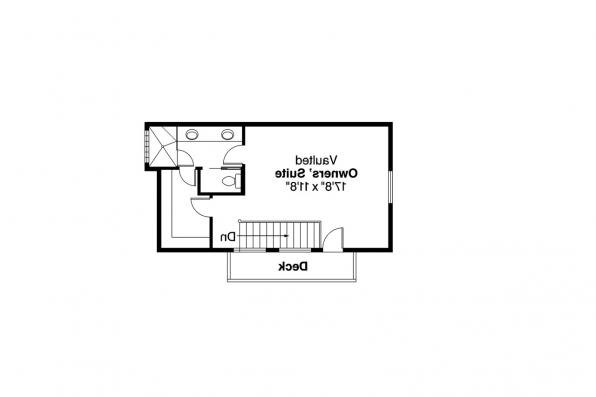 Craftsman House Plan - Elsberry 30-265 - 2nd Floor Plan
