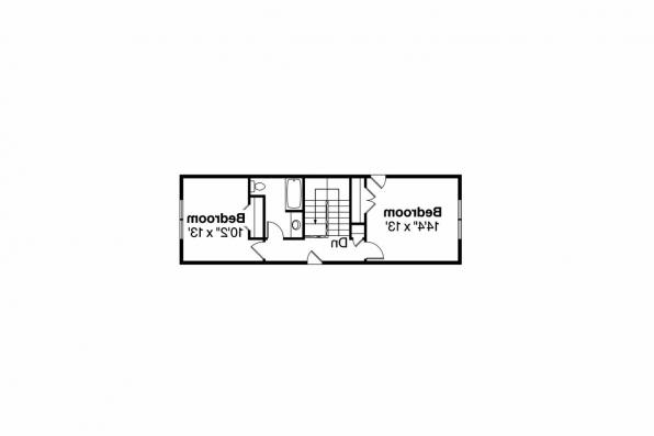 Craftsman House Plan - Fairfield 30-583 - 2nd Floor Plan