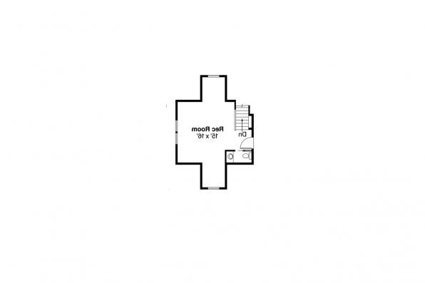 Craftsman House Plan - River Glen 30-223 - 2nd Floor Plan
