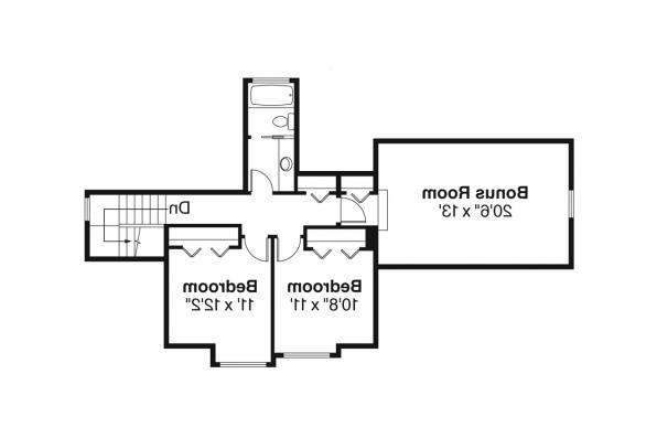 Craftsman House Plan - Rockport 30-707 - 2nd Floor Plan