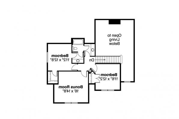 Craftsman House Plan - Scarborough 30-530 - 2nd Floor Plan