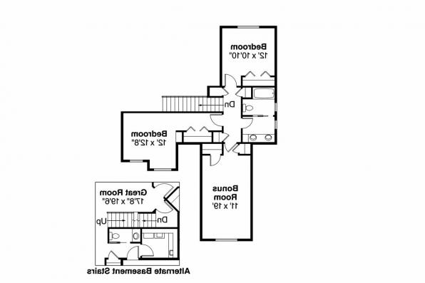 Craftsman House Plan - Sturnbridge 30-663 - 2nd Floor Plan