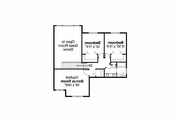 Craftsman House Plan - Yellowwood 30-728 - 2nd Floor Plan