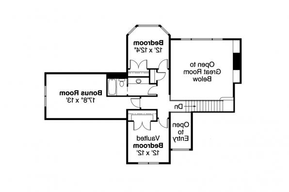 European House Plan - Crestwick 30-425 - 2nd Floor Plan