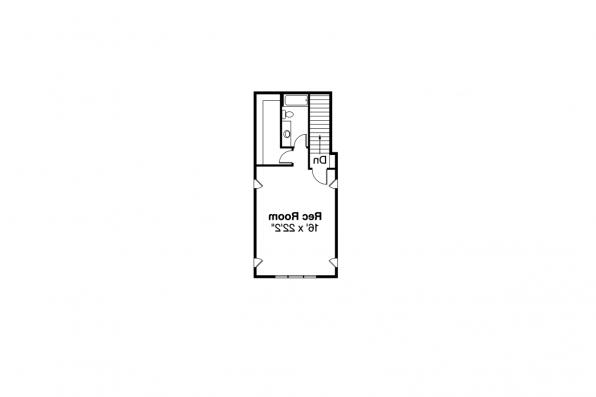 European House Plan - Landry 30-665 - 2nd Floor Plan
