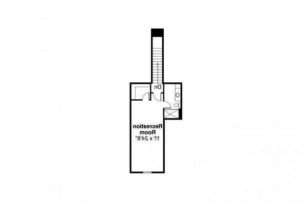 European House Plan - Littlefield 30-717 - 2nd Floor Plan