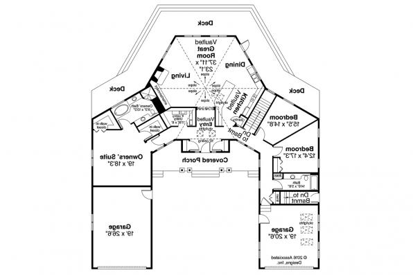 Florida House Plan - Sonora 10-533 - Floor Plan