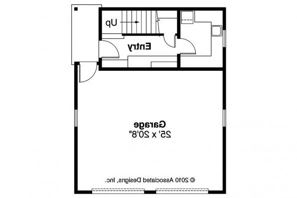 Garage Plan 20-007 - 1st Floor Plan