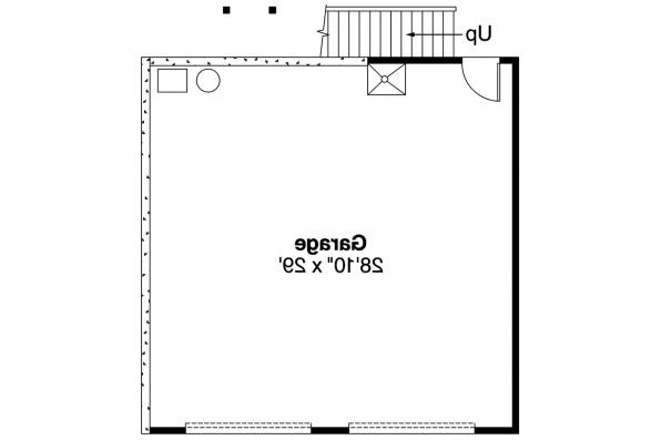 Garage Plan 20-008 - 1st Floor Plan