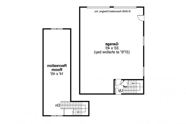 Garage Plan 20-046 - Floor Plan