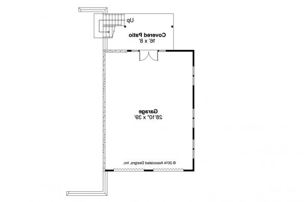 Garage Plan 20-115 - First Floor Plan