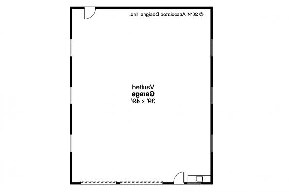 Garage Plan 20-131 - Floor Plan