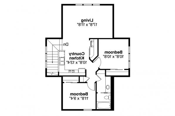Garage Plan 20-141 - Second Floor Plan