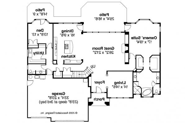 Mediterranean house plans corsica 30 443 associated for Floors of the house in spanish