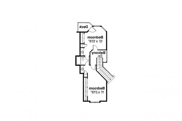 Mediterranean House Plan - Rochester 10-353 - 2nd Floor Plan
