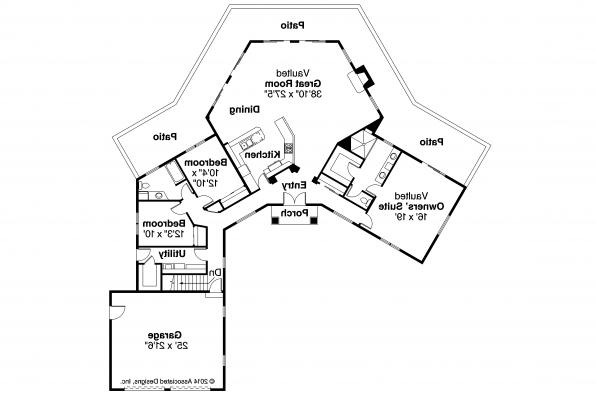 Mediterranean House Plan - Rosabella 11-137 - Floor Plan