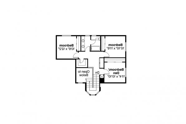 Mediterranean House Plan - Sequoia 11-013 - 2nd Floor Plan