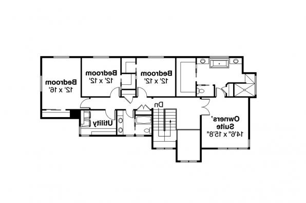Prairie Style House Plan - Brookhill 30-963 - Second Floor Plan