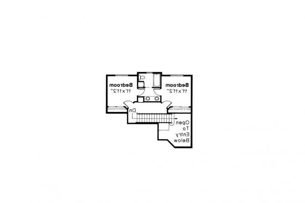 Ranch House plan - Beaumont 10-052 - 2nd Floor Plan