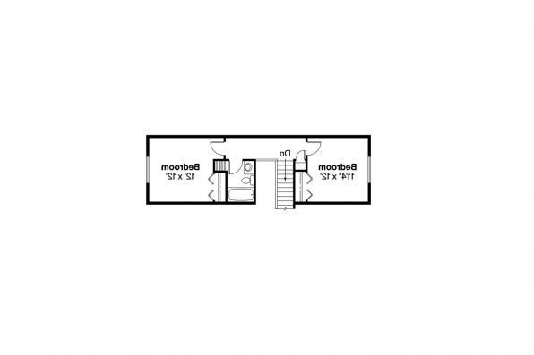 Ranch House Plan - Carter 30-531 - 2nd Floor Plan