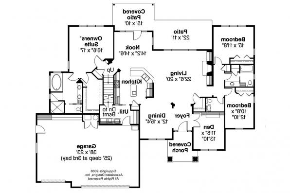 Ranch House Plan - Heartington 10-550 - Floor Plan