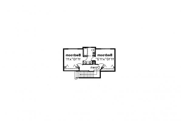 Ranch House Plan - Ridgecrest 10-257 - 2nd Floor Plan