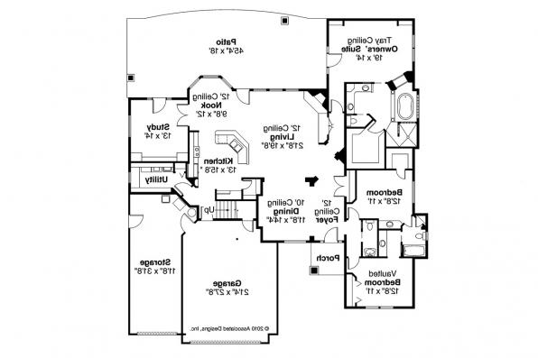 Ranch house plans rosemont 30 376 associated designs for Wide ranch house plans