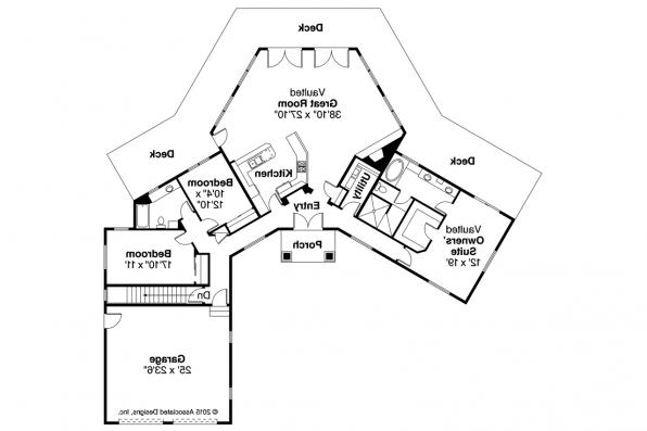 Ranch House Plan - Silvercrest 11-143 - Floor Plan