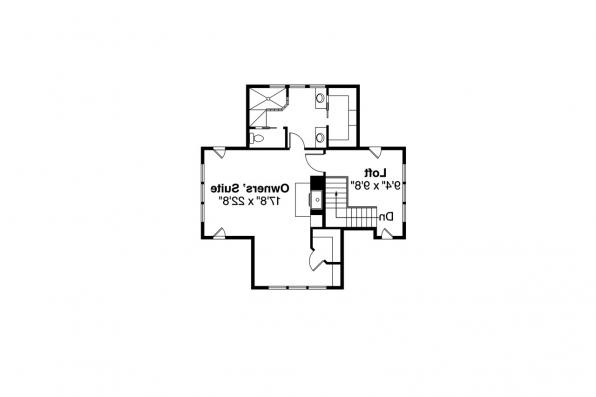Shingle Style House Plan - Longview 50-014 - 2nd Floor Plan